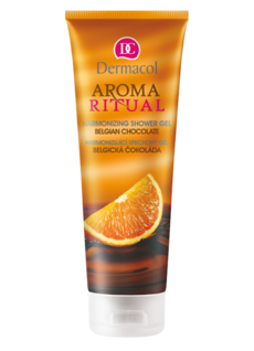 AROMA RITUAL SHOWER GEL - BELGIAN CHOCOLATE