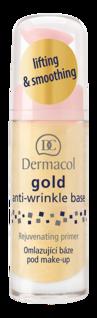 Gold anti-wrinkle make-up base 20ml