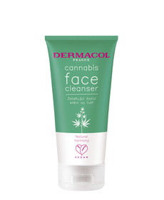 Cannabis face cleanser